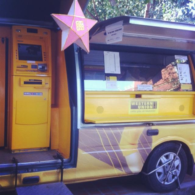 Фургон Western Union