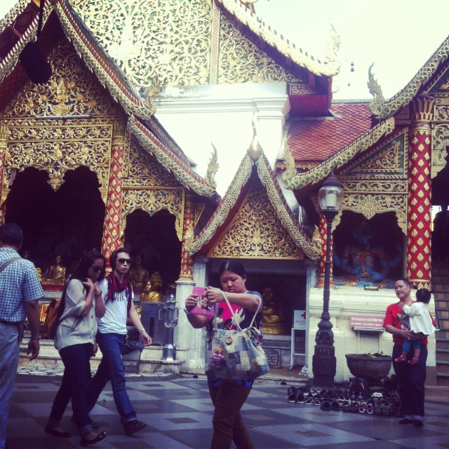 Wat Phra That на горе