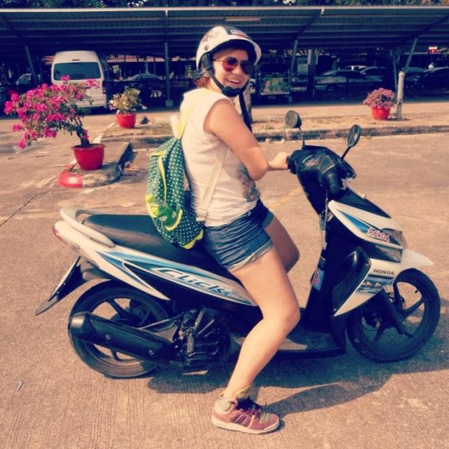 Освоение скутера