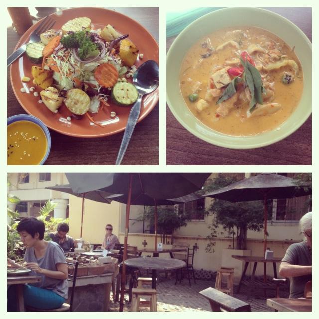 Pun Pun, лучший вегетарианский ресторан в Чианг Мае